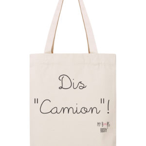 dis camion sac coton tote bag autopalpation cancer du sein