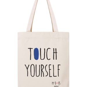 touch yourself dis camion sac coton tote bag autopalpation cancer du sein